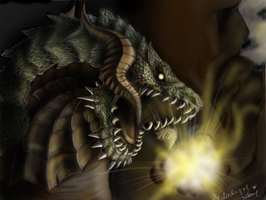 Antharas Dragon by LasAngel