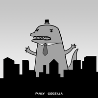 Fancy Godzilla by arseniic