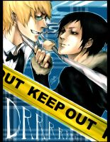 DRRR: Keep Out by AngeliciousO3O