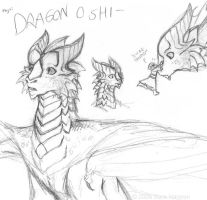 DRAGON O SHI- by warriorbirdy