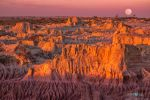 Mungo Moon Sunset by Questavia