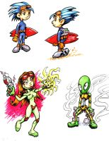 Early Endo colors by pigmanga