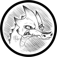 Angry Kobold Badge by Coloran