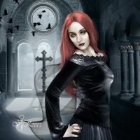 Vampires in the Small Church by vampirekingdom