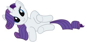 Rarity is the most cutiest pony by transparentpony