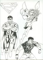 Superman Family by Jarrett-Ervin