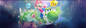 Super mario galaxy  signature by MichealP