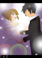 Request: Ballroom Couple 1 by GummyDrive
