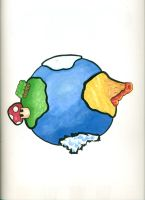 Tiny Globe by jonnay