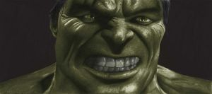 The Incredible Hulk by donchild