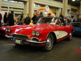 Chevrolet Corvette C1 '61 by franco-roccia