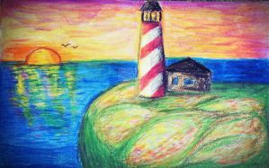 Lighthouse by Phisoxa