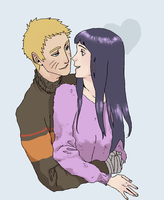 Naruhina Sweaters by mayday-daywalker