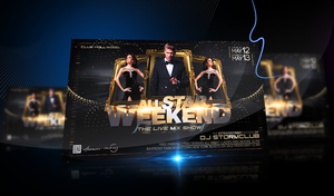 All Star Weekend Flyer by stormclub