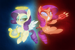 Angels and Demons by TalonsofIceandFire
