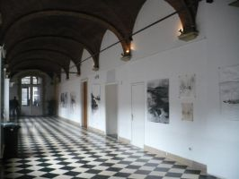 Exhibition at school2 by Anna-Maija