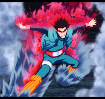 Naruto 668 ~ The Eighth gate! Gate of Death.. by DarkMaza