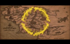 LOTR - Ring over Middle Earth by PakPolaris