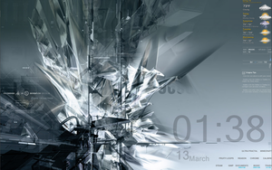 My Rainmeter by Drummerboy08