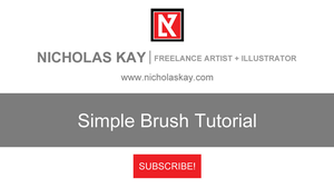 Simple Brush Tutorial by NicholasKay