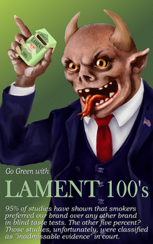 Go Green with LAMENT 100's by JeremyMcCabe