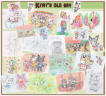 My old art (2008-2010) by KiwiBeagle