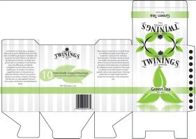 Green Tea Packaging by Xiox231