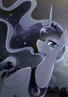 Moonlit Princess by yuki-zakuro