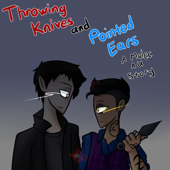 Throwing Knives and Pointed Ears by TinyKuroNeko