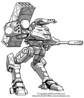 Freelance Mecha Design 06 by Mecha-Zone