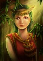 Lady from Maluku by chronica