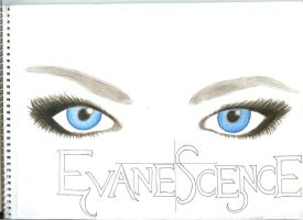 Amy Lee's Blue Eyes by gothicqueen369