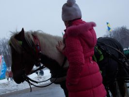 Child. Horses. Moscow. by RedTizer