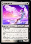 Angel of Life Magic Card by deathangel20