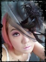 12.13.2011 Pink Hair and Small Hat by Jika-Jika