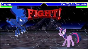 Pony Kombat Tournament Round 2, Battle 6 by Mr-Kennedy92