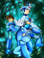 Megaman Evolution by macprodukshunz