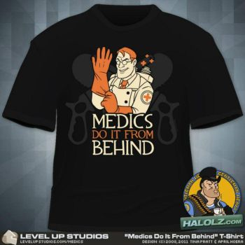 Medics Do it from behind by OhSadface