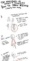 How to Draw Wilson (TAWPH Style) by GhostlyMuse