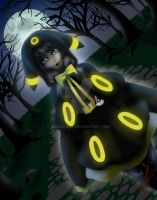 Umbreon Character (Darling Army contest!) by Cazzie-ART