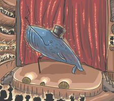 Bluewhale on Broadway by Johanz