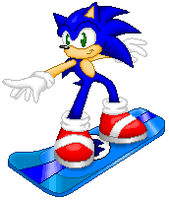 .: Sonic Boarding the Air by Neon-Nazo