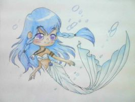 Chibi Selkie Aira by Charming-Manatee