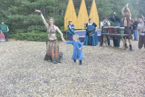 King Richard's Fair, Belly Dancing Lesson 4 by Miss-Tbones