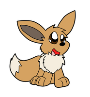 Eevee by VulpineKeyblader