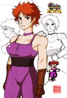 13-32 Linda (Double Dragon) by Rukunetsu