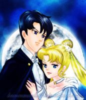 SM - Romance by Moonlight by KaroruMetallium