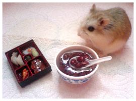 Gourmand Hamster by hedspace77