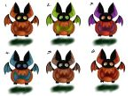 Pumpkin Bat Adopts {Closed} by Black-Ice-Gryphon