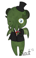 Sir Cthulu by TotallyNA
